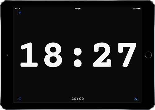 Fin: A Timer for Performers